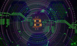 Preis des Flaggschiffs der Kryptowährung bei Bitcoin Future